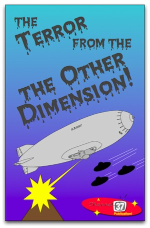 "Cover for ""The Terror from the Other Dimension!"""